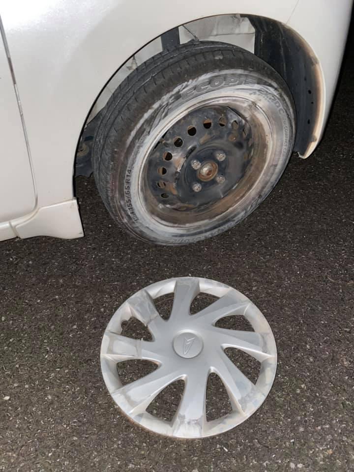 自動車事故発生警報
